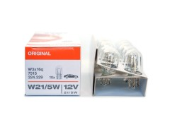 Авто-лампочка OSRAM P21/5w 12v W3x16q стекл. цоколь 7515