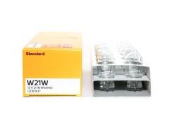 Авто-лампочка PHILIPS W21W 12v 21w (W3x16d) 12065CP