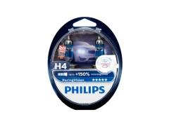 Галогенные лампы PHILIPS Racing Vision +150% комплект 2шт.