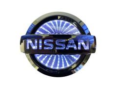 Светящиеся значки 3D NISSAN ALMERA 10.6*9 белый