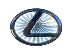 Светящиеся значки 3D LEXUS GS 300 10.5*6.85 белый