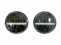 Фара диодная JEEP-CREE (Нива,УАЗ,Wrangler) MS7080 PREMIUM (2шт)