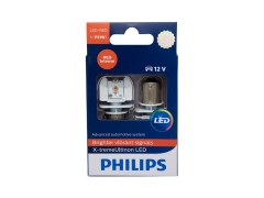 Светодиод PHILIPS P21W 12v 2w (BA15s) X-tremeUltinon LED RED 12898RX2 2шт.