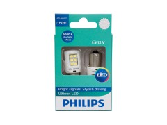 Светодиод PHILIPS P21W 12v-21w (BA15s) Ultinon LED White 11498ULWX2 2шт