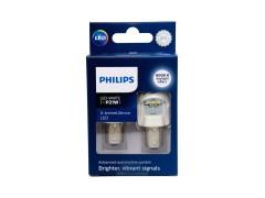 Светодиод PHILIPS X-tremeUltinon LED gen2, P21W, 12-24v, 11498XUWX2, белый, 2шт.