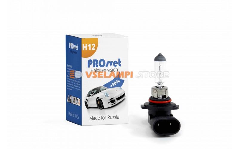 Галогенная лампа PROsvet Clear - цоколь H12