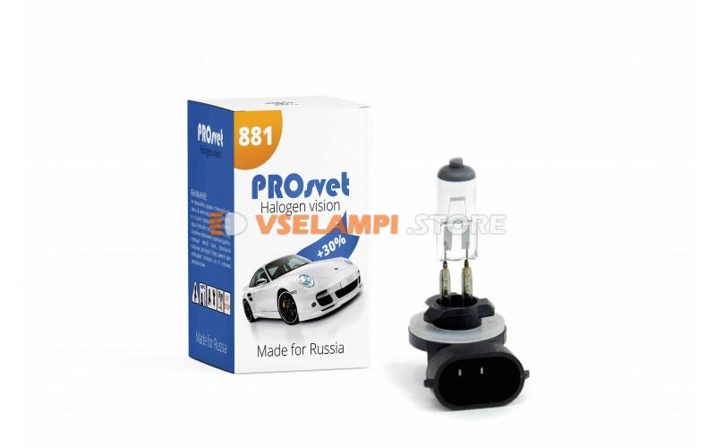 Галогенная лампа PROsvet Clear - цоколь H27/2
