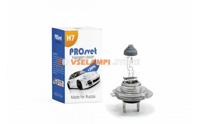 Галогенная лампа PROsvet Clear - цоколь H7 100