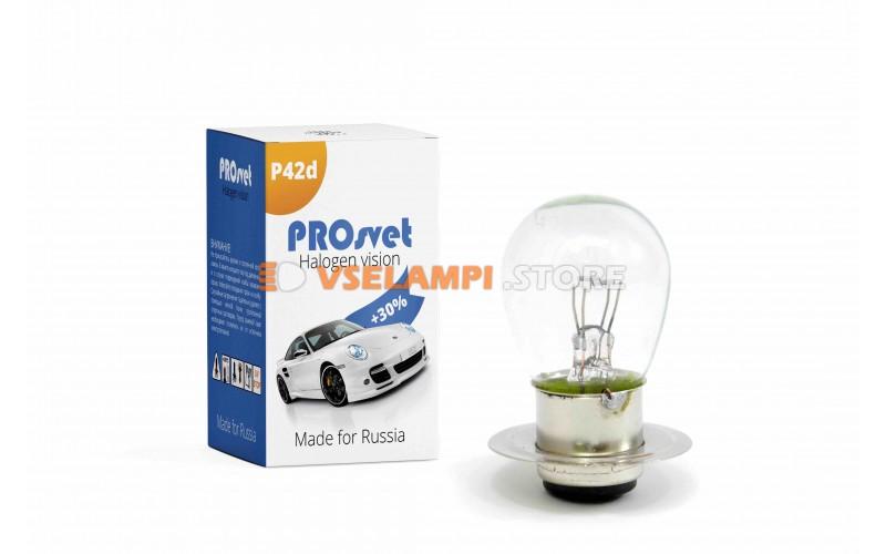Галогенная лампа PROsvet Clear - цоколь Тракторная 2к