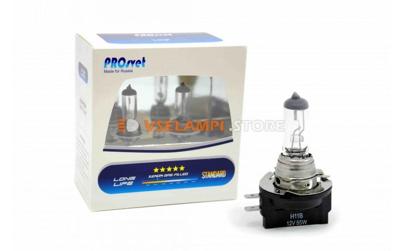 Галогенная лампа PROsvet Clear - цоколь H11B