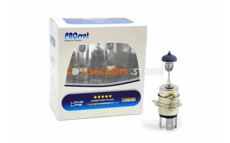 Галогенная лампа PROsvet Clear - цоколь H4A
