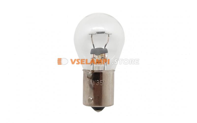 Лампа накаливания 1-контактная KOITO S25 P25W, 24v, 25w, цвет желтый, 1шт - 4610