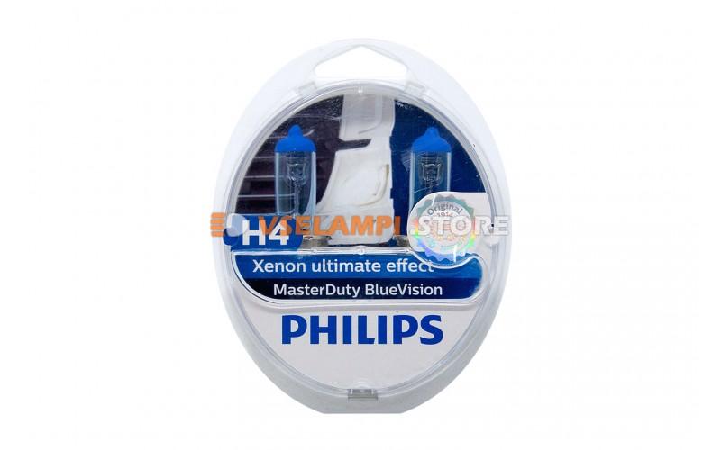 Галогенные лампы PHILIPS MasterDuty Blue Vision 24V комплект 2шт.