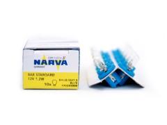 Авто-лампочка Narva Blue W1.2W BAX (BAX8.5d/1.5), 12v, 1.2w, желтый