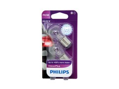Авто-лампочка PHILIPS Vision Plus P21/5W 12v 21/5w (BAY15d) (+60% света) 12499VPB2