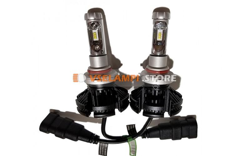Сверх яркие светодиоды LUMILEDS X3 6000Lm комплект 2шт. - цоколь H7
