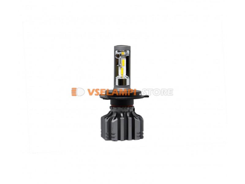Сверх яркие светодиоды PROsvet S4 4200k комплект 2шт. - цоколь H4