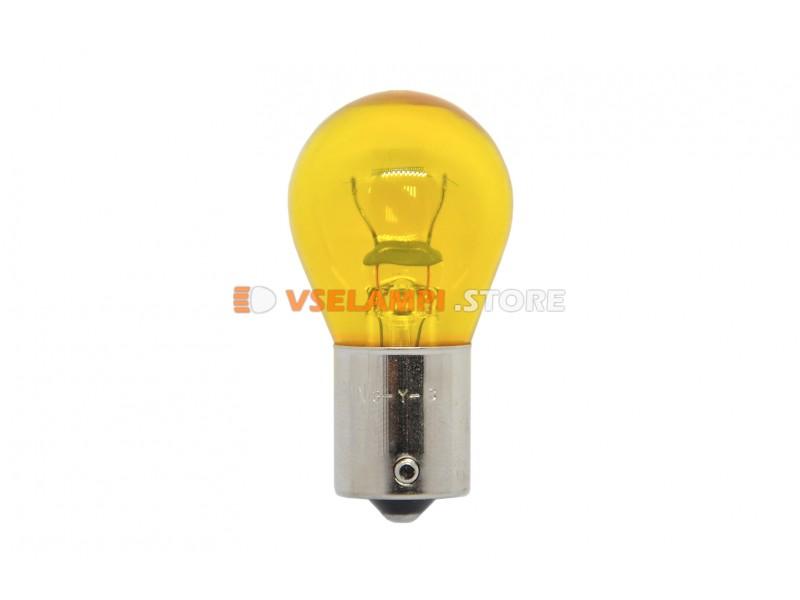 Лампа накаливания 1-контактная KOITO P35W (BA15s), 12v, 35w, цвет ярко желтый, 1шт - 4578Y