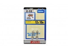 Комплект авто-лампочек 2шт - KOITO S8.5/8.5 T11x31 (C10W), 12v, 10w, белый
