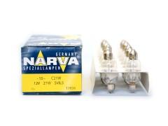 Авто-лампочка Narva С21W (SV8.5-41/15.5), 41мм, 12v, 21w, желтый