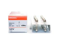 Авто-лампочка OSRAM C10w 12v (10w) SV8,5-8 двухцокольная 6411 41мм