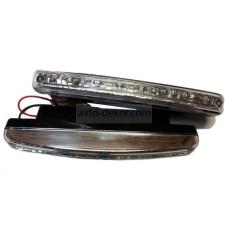 Ходовые огни 014 (8 LED диодов) 157*17 мм
