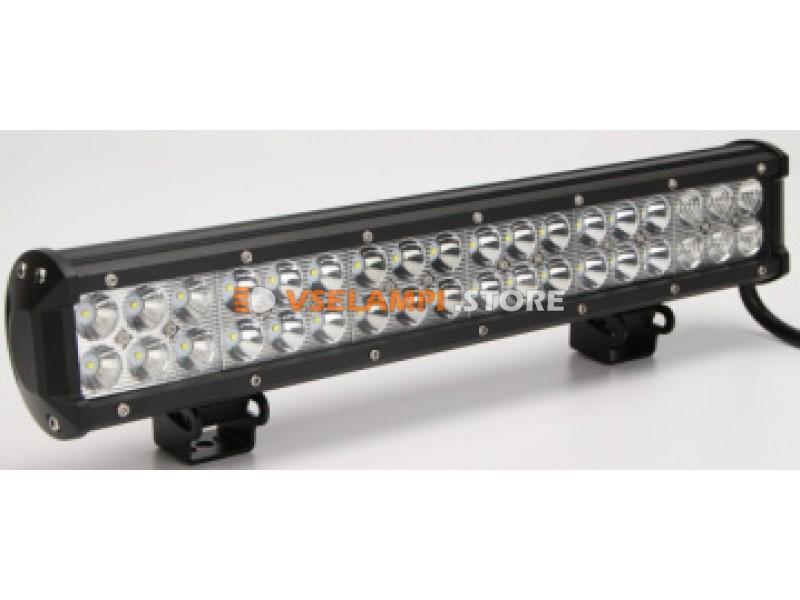 Прожектор 9-30V 108W 36SMD 434x77mm - тип свечения комбинированный