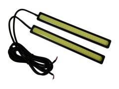 Ходовые огни 019А 3W (COB диод) 144*16 мм чёрные 48 CHIP 6000K