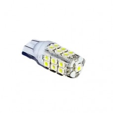 Светодиод 12vT10 25SMD б/ц белый