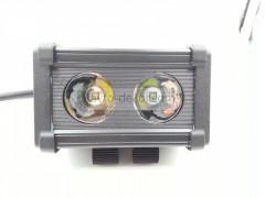Прожектор квадратный 9-30V 20W 2SMD 111x65mm дальний