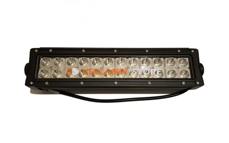 Прожектор 9-30V 72W 24SMD 340x81x87mm дальний