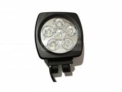 Прожектор круглый 9-30V 60W 6SMD 140x140mm