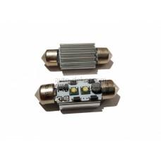 Светодиод 12vT11x36 AC 2SMD обманка белый 6W Hight power OSRAM