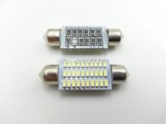 Светодиод 12vT11x39 30SMD обманка белый
