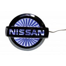 Светящиеся значки 3D NISSAN LIWINS белый