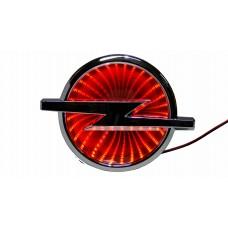 Светящиеся значки 3D OPEL 13,3*10,1 красный