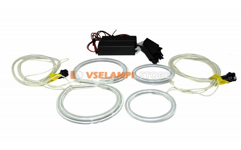 Комплект ангельских глазок белые 4шт SVS CCFL для NISAN INFINITI FX35