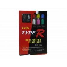 Стробоскопы врезные Type-R (1-спираль) 2шт. HDX-704-2