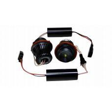 Светодиоды в ангельские глазки BMW E64/E60 10w (для Е39, 53,65,66,60,61.63,64,87) (к-т. 2шт.) белый