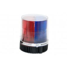 Мигалка синяя+красный 12v HDX-51016M