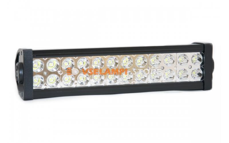 Прожектор 9-32V 72W 24SMD 340x80mm - тип свечения дальний