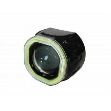 Би ксеноновая линза Clearlight 2,5 черная с диодной подсветкой
