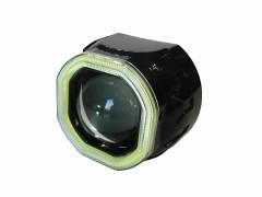 Би-ксенон линза Clearlight 2,5 (черный, с диодной подсветкой)