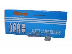 Галогенная лампа PROsvet 12v W5W T10 W2.1x9.5d б/ц