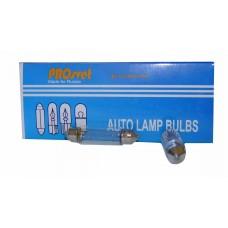 Галогенная лампа PROsvet 12v C5W T11x41 А/С 5w удлин.