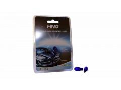 Комплект авто-лампочек 2шт - б/ц HNG BLUE NATURE T10 (W5W), 5w, 12v, белый