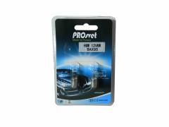 Галогенная лампа PROsvet 12v H6W BAX9s clear (к-т)