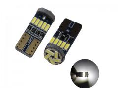 Светодиод К 12v T10 б/ц 15SMD 4014 CANBUS белый