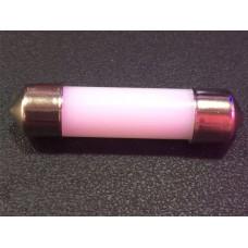 Светодиод К 12v T11 COB 41мм White 360` mat
