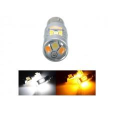 Светодиод К 12v T25/5 31SMD White/yellow +/- арт. 1157